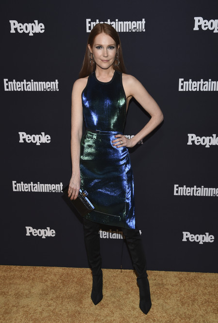 Darby Stanchfield people entertainment weekly fiesta look estilismo outfit