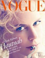 Nicole Kidman es una belleza y así nos lo muestra Vogue con su doble portada