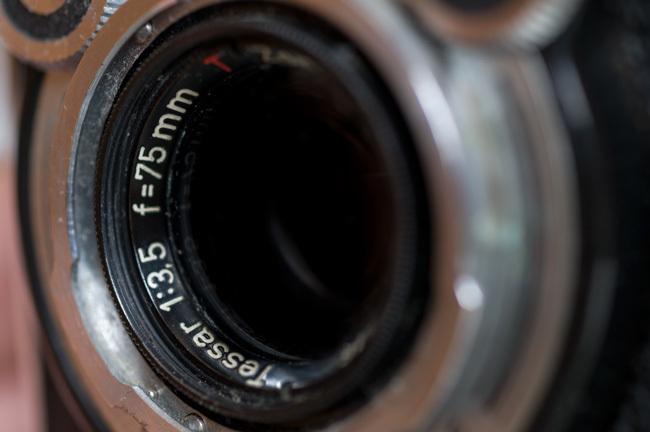 Tessar 75mm f3,5