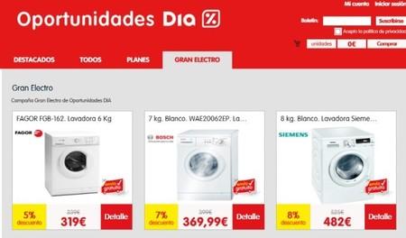 """Oportunidades Día estrena sección: """"Grandes electrodomésticos"""""""