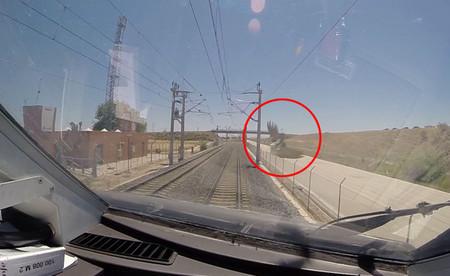 Esto es lo que pasa cuando un tren de alta velocidad atropella a una urraca