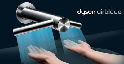 Dyson  Airblade Tap, un grifo con secador de manos  incorporado