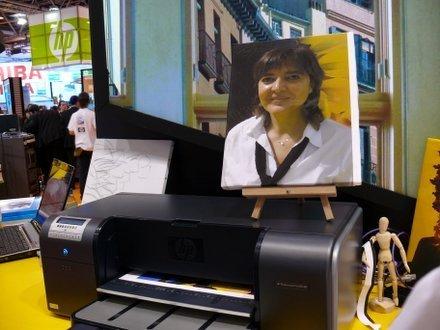 Simo2006: sistema HP de impresión en lienzos