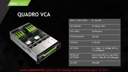 Nvidia Quadro Vca2015