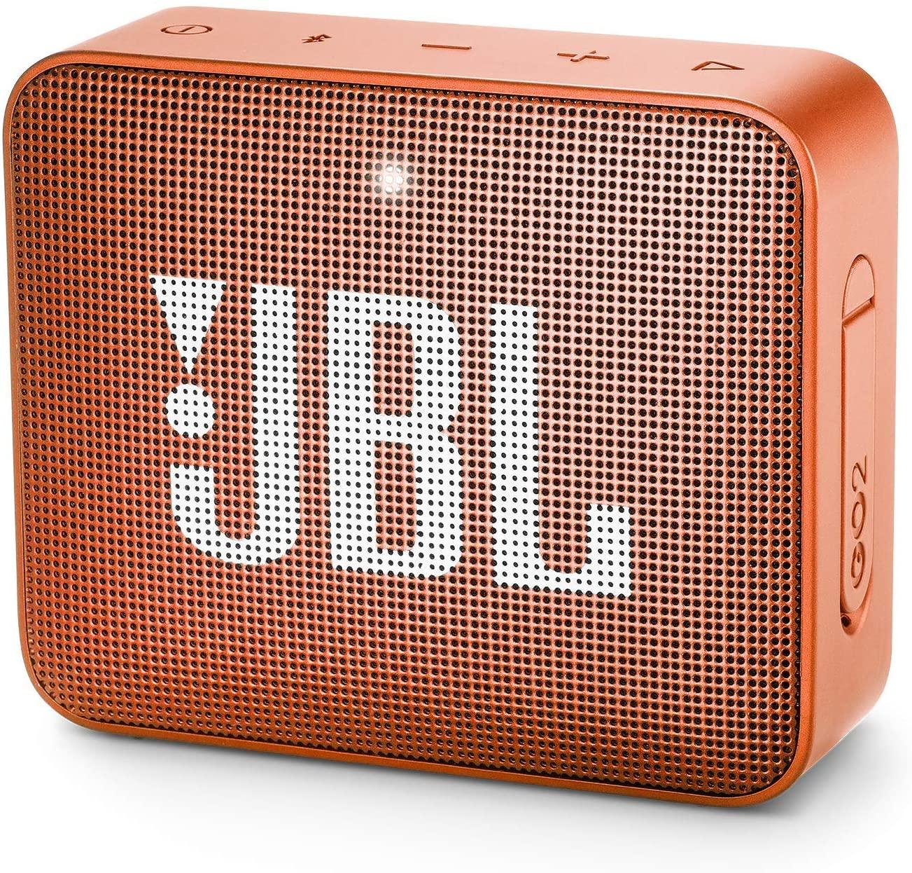 Bocina inalámbrica JBL GO 2 resistente al agua - Naranja