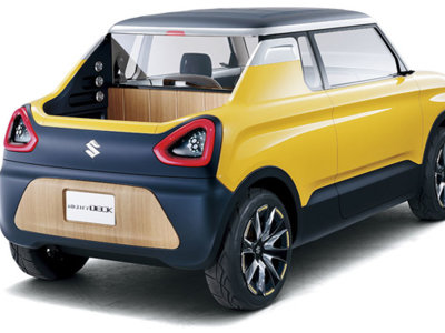 Suzuki Mighty Deck: un mini prototipo, rumbo a Tokio