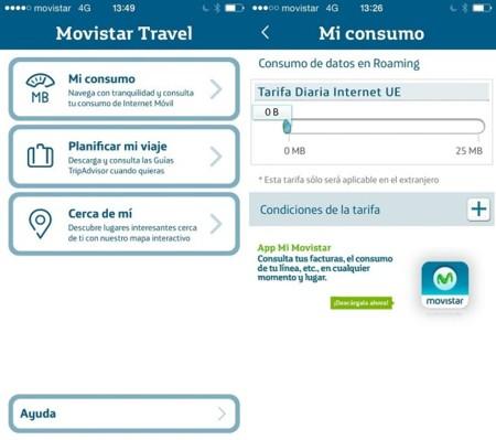 Movistar lanza Travel, una app para controlar el consumo de datos en roaming y guías de viaje