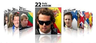 Lista oficial de participantes de la primera temporada de la Fórmula 2
