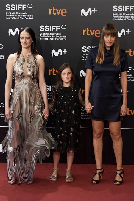 Eva Green, Zelie Boulant y Alice Winocour en Donostia