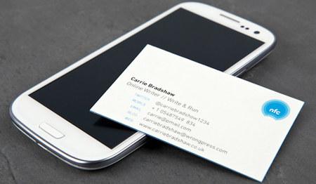 Tarjetas de visita con NFC, ¿el futuro de las tarjetas de visita en papel?