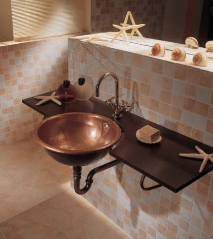 lavabo redondo cobre ago