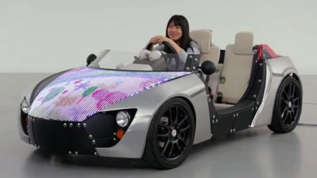 Camatte, el Meccano de Toyota recibe un capó personalizable