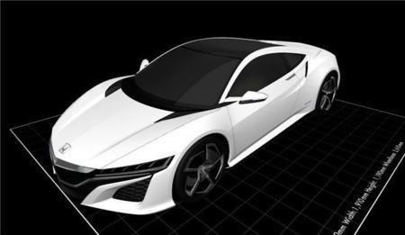 Ya puedes construirte un Honda NSX con tu impresora 3D: Honda te deja los planos