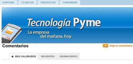 Tecnología Pyme renueva su sistema de comentarios