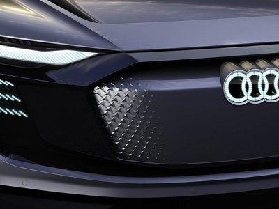 Aquí tienes otro vistazo al Audi e-tron Sportback que se presentará esta semana en Shanghai