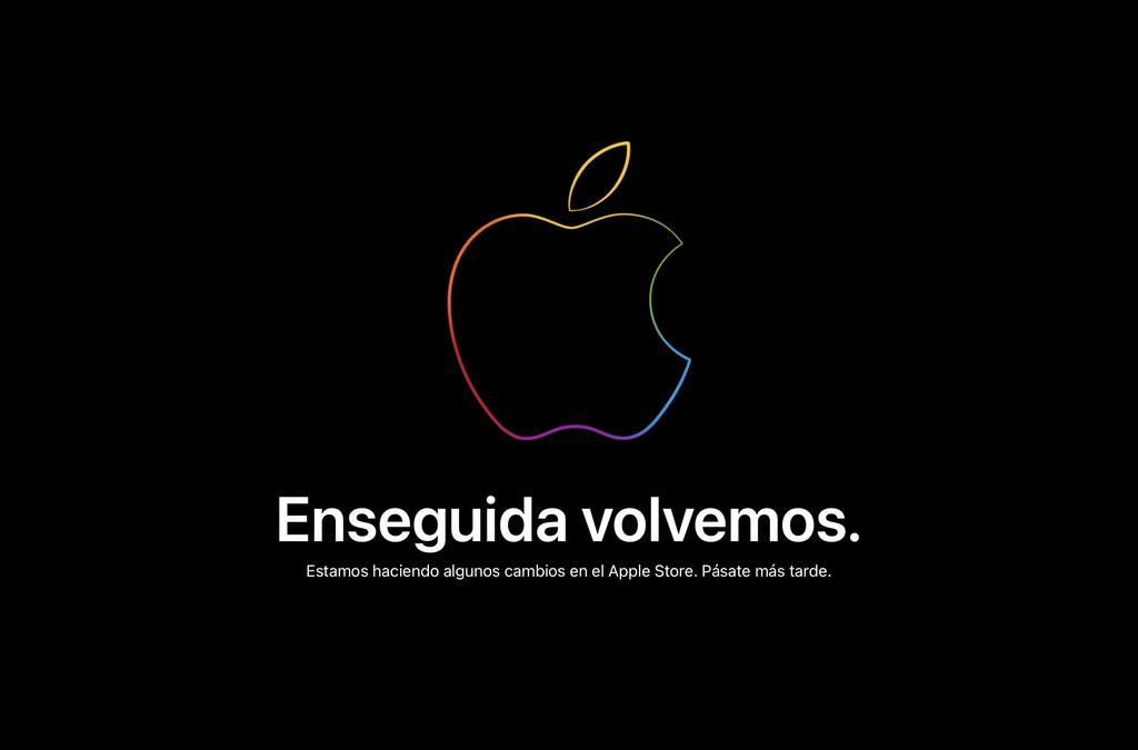 Apple cierra la tienda online preparandose para el evento de esta tarde