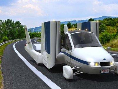 El auto volador Terrafugia despegará desde China