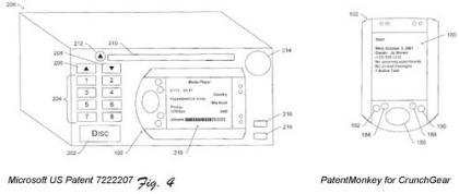 Microsoft patenta sistema de audio para el coche con dock