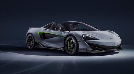 El McLaren 600LT Spider debutará en Ginebra como un one-off concebido bajo la varita de MSO