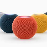 El HomePod mini llega en tres nuevos colores: azul, amarillo y naranja