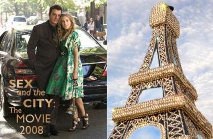 El bolso 'Torre Eiffel' de Timmy Woods y Swarovski para 'Sex & the City', la película