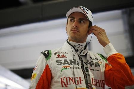 Adrian Sutil baraja Force India como primera opción para 2014