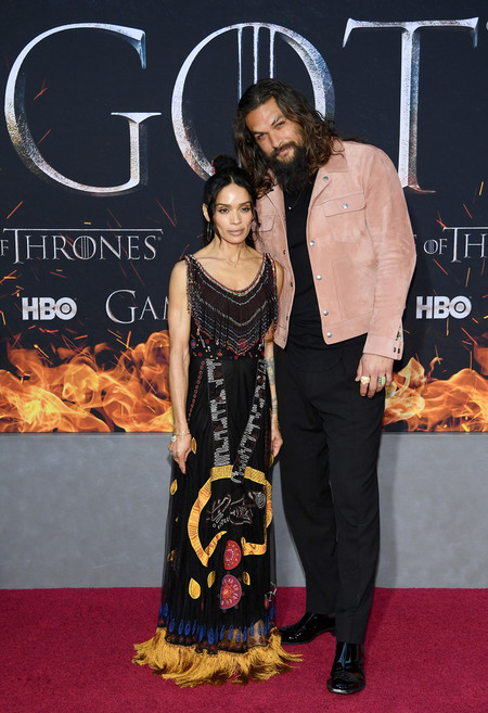 Jason Momoa Game Of Thrones Final Season Premiere Red Carpet