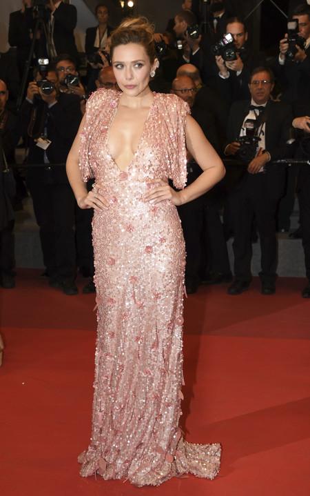 Elizabeth Olsen Cannes Alfombra Roja Look 2017 2