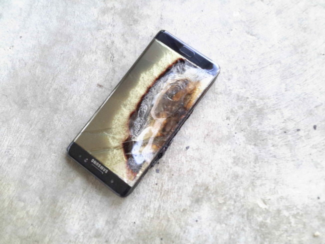 Galaxy Note 7 Exploded