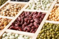 El contenido de proteínas de diferentes legumbres
