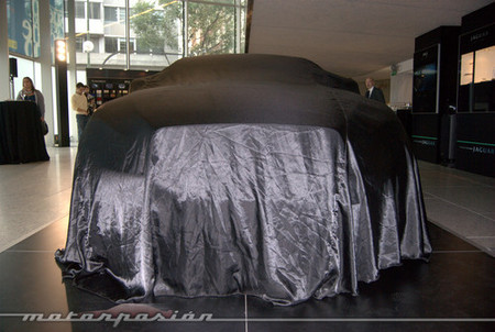 Un primer vistazo al Jaguar XJ