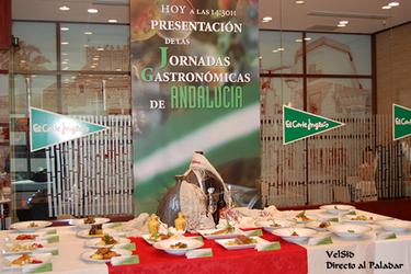 Jornadas Gastronómicas de Andalucía en Restaurantes de El Corte Inglés