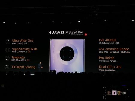 Huawei Mate 30 Pro Oficial Camaras