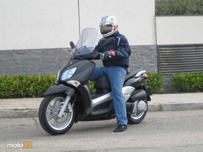 Prueba de la Yamaha X-City 125. Conclusiones y galería de fotos.