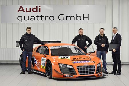 Audi entrega su R8 LMS número 100