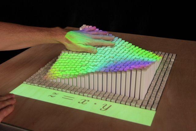 [Vídeo] Superficie que recrea objetos en 3D y tiempo real concebida por el MIT
