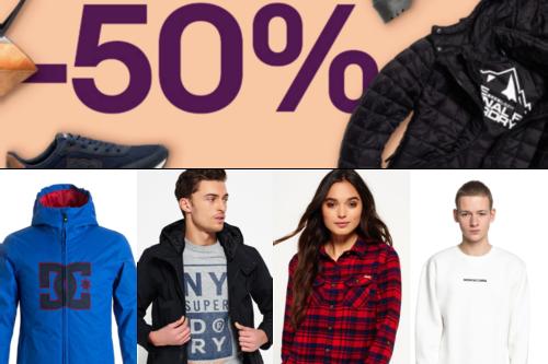 Rebajas en eBay: las 19 mejores ofertas en moda de marcas como Jack&Jones, Superdry o Quiksilver
