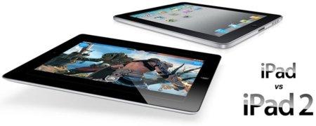 Comparativa del iPad y el iPad 2, ¿qué ha cambiado?
