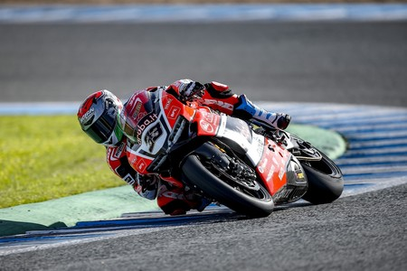 Marco Melandri Test Jerez Superbike 2016 2