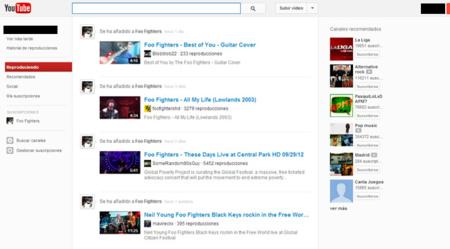 YouTube activa su enésimo rediseño a algunos usuarios. La imagen de la semana
