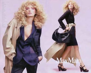 Lily Donalson para Max Mara