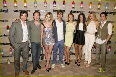 Blake Lively y Leighton Meester en la fiesta de estreno de la segunda temporada de Gossip Girl