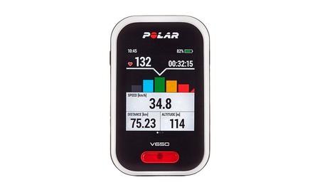 Para salir con la bici con todo bajo control, el Polar V650 en Mediamarkt sólo cuesta 186 euros