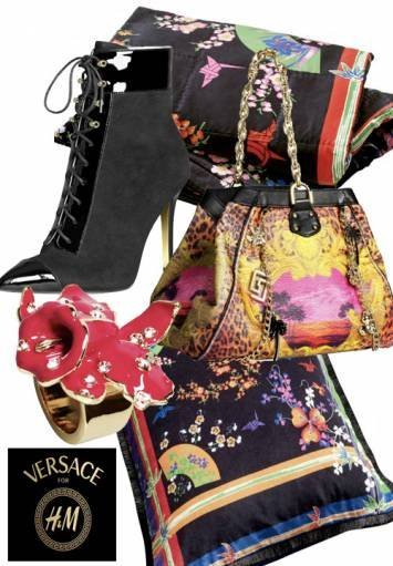 Versace para H&M: colección de accesorios y casa