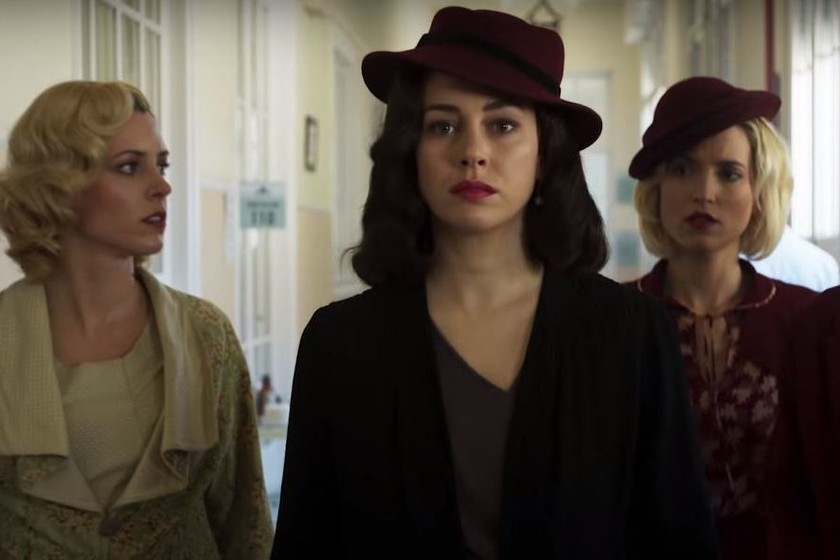 El tráiler final de la temporada 3 de 'Las chicas del cable' promete emociones fuertes para sus protagonistas