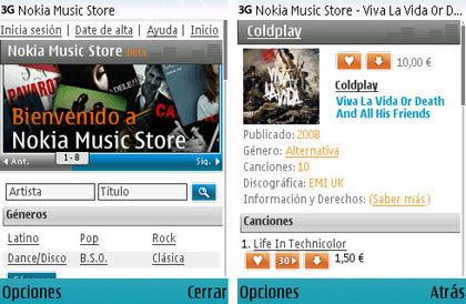 Nokia Music Store en España