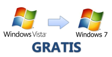 Actualización gratuita de Windows Vista a Windows 7