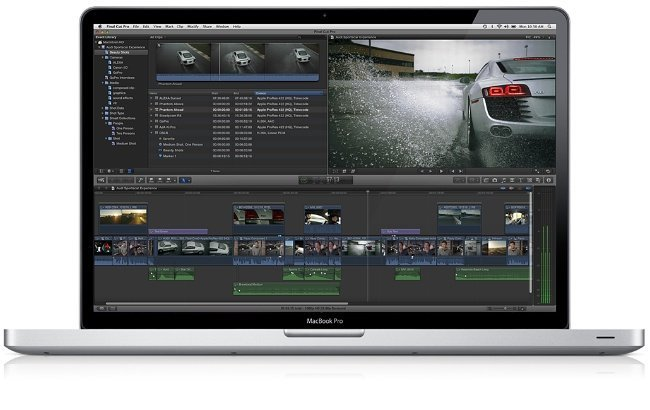 final cut pro x apple macbook edicion video