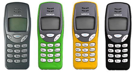 Nokia 3210. Teléfonos con Historia V