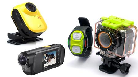 Las mejores cámaras de acción low-cost, alternativas a GoPro (I)